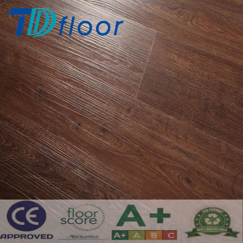 Deep Embossing Wood Pattern Color PVC Vinyl Flooring