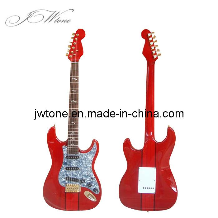 Electric Guitar Stencil Body st Electric Guitar