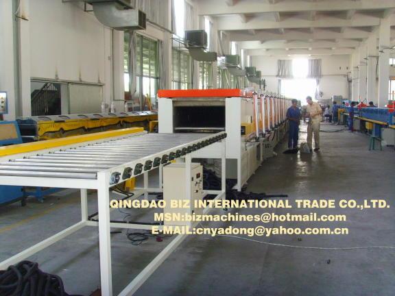 Air Conditonor Foam Insulating Pipe Producing Line