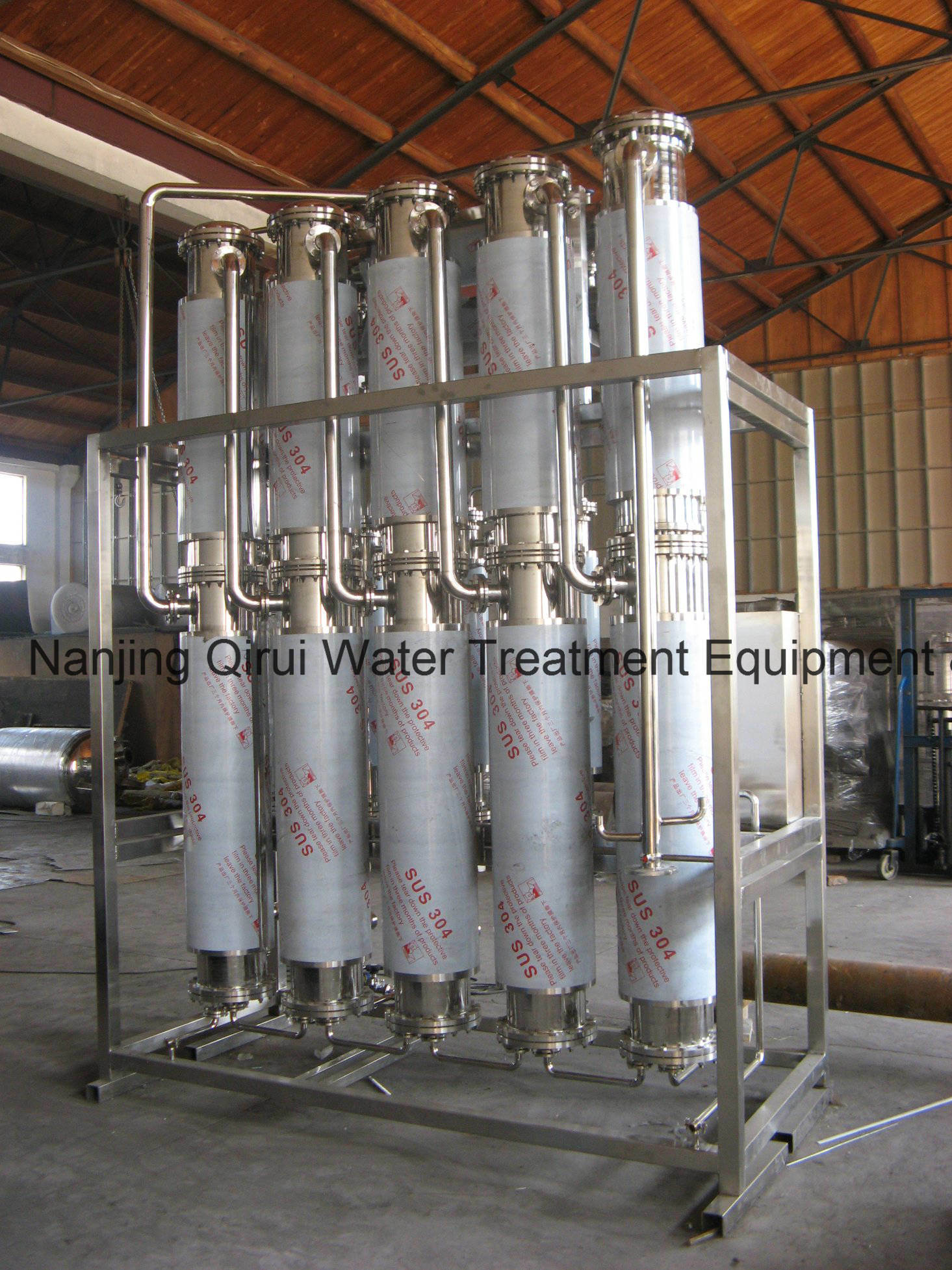 China LD2000 5 Multi Column Water Distillation Plant China Wfi