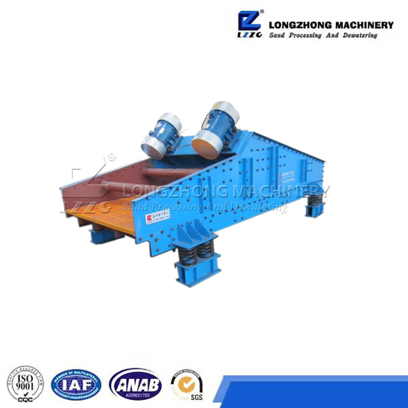 High Frequency Dewatering Screen for Kaolin Ore Dehydration