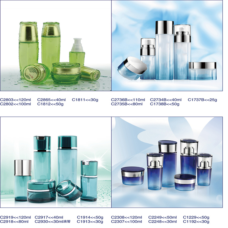 Whosale Personal Care Different Sizes Glass Jars with Screw Top Lid