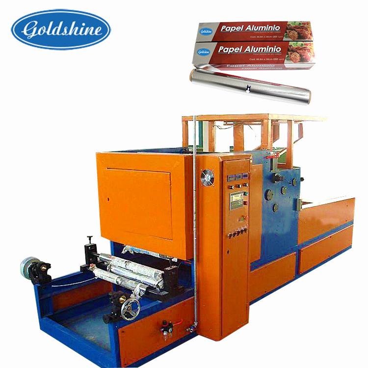 Promotional Aluminum Foil Rewinder Cut Machinery