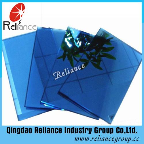 Ce&ISO Certificates 5mm Dark Blue Reflective Glass