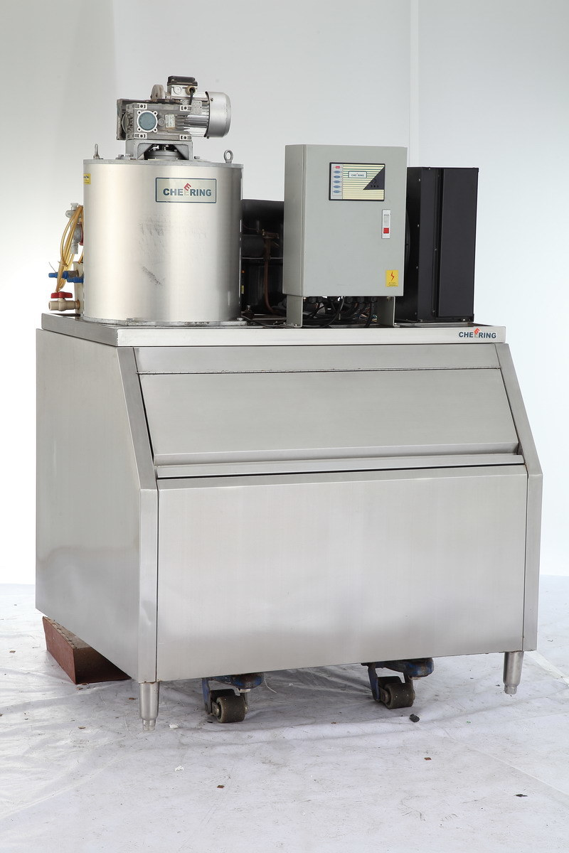 400kg~1500kg/24h Commercial Stainless Steel Ice Flake Machine