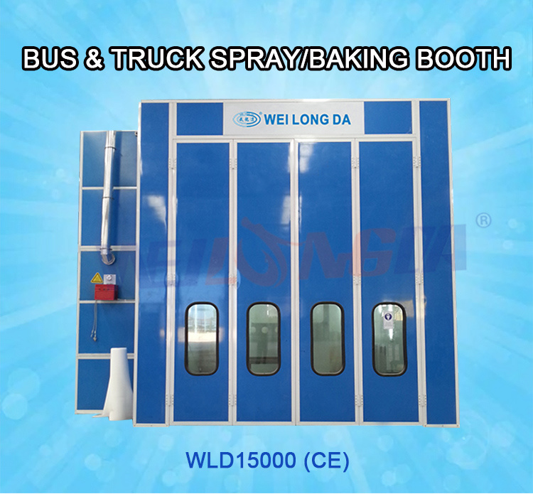 Wld15000 Truck Painting Booth in Argentina / Guangzhou Supplier
