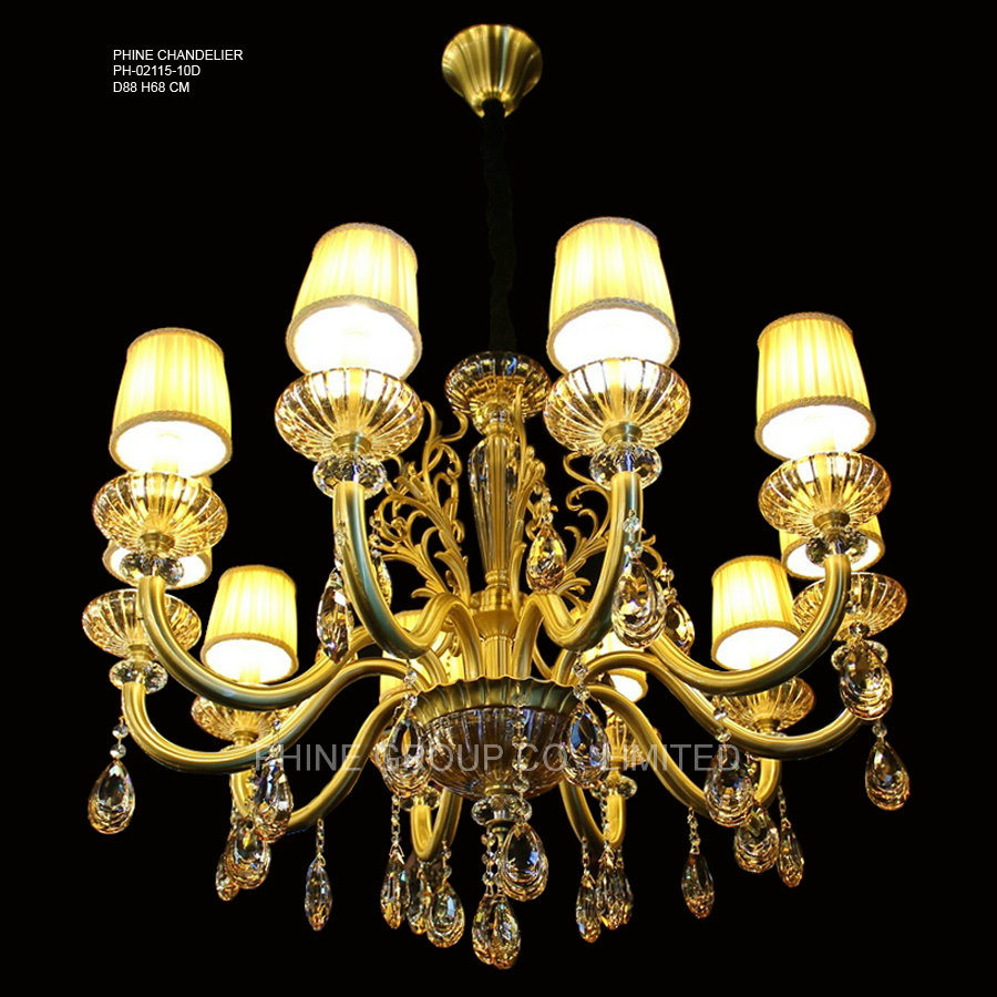 Phine pH-02115 Modern Pendant Lighting with Swarovski Crystal Decoration Fixture Lamp Chandelier Light