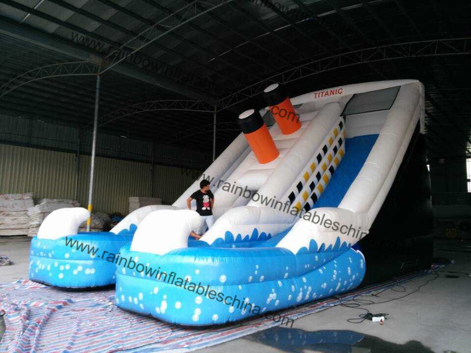 Rent Commercial Backyard Inflatable Home Water Slides