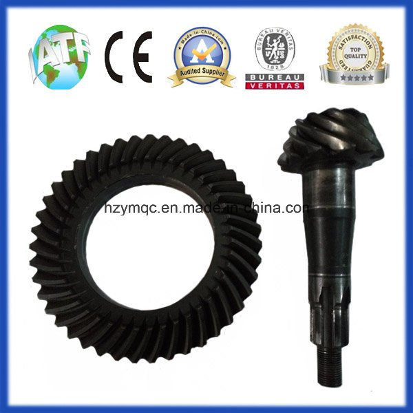 Truck PC40 Axle Differential Spiral Bevel Gear 6/37