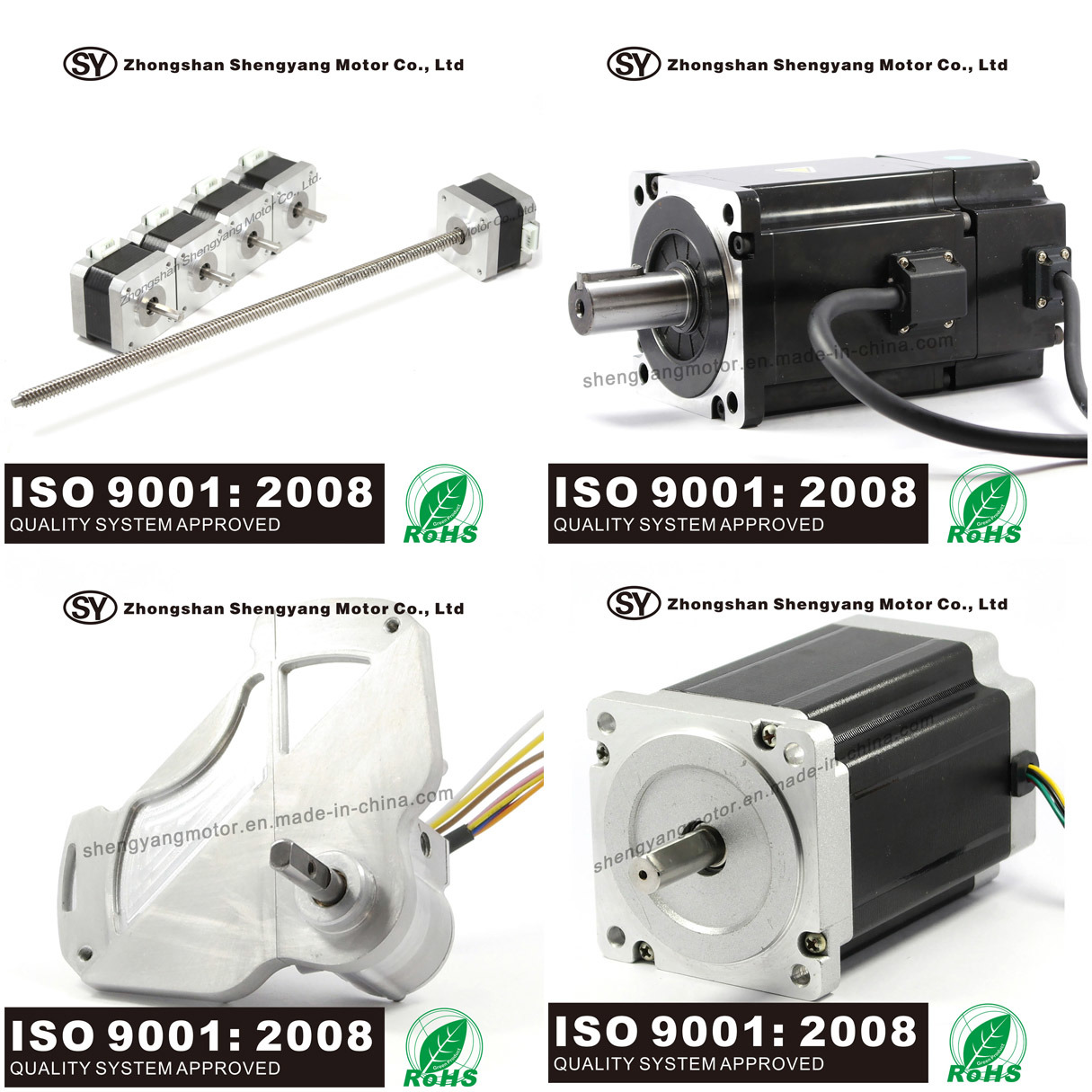 100W AC Servo Electrical Motor for Electric Vehicle (60SV100AA30C)