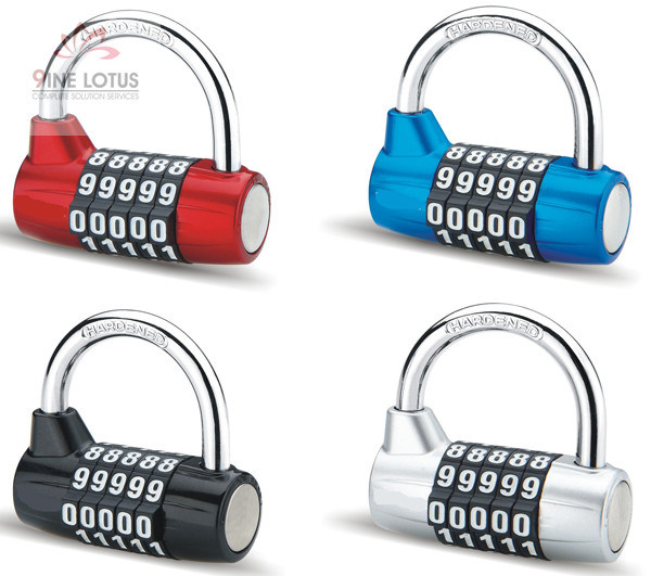 High Quality Color Aluminum Alloy Combination Padlock