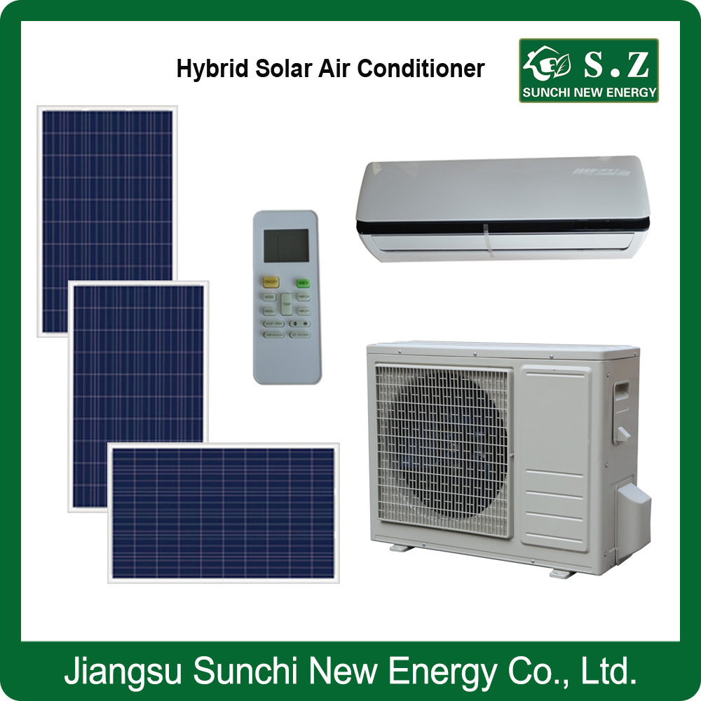 Acdc Type Hybrid Solar Split Air Conditioning Installing Solar Panels