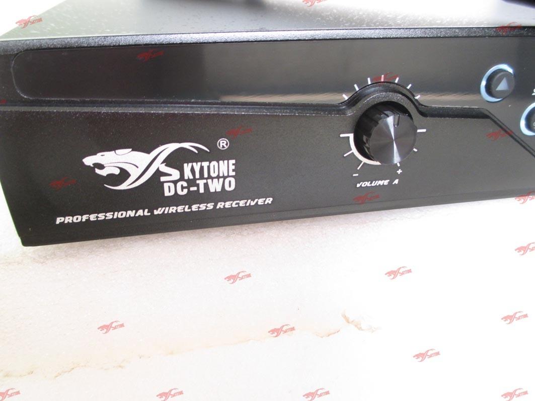 Handheld DC-Two UHF Wireless Microphone System Karaoke Mic