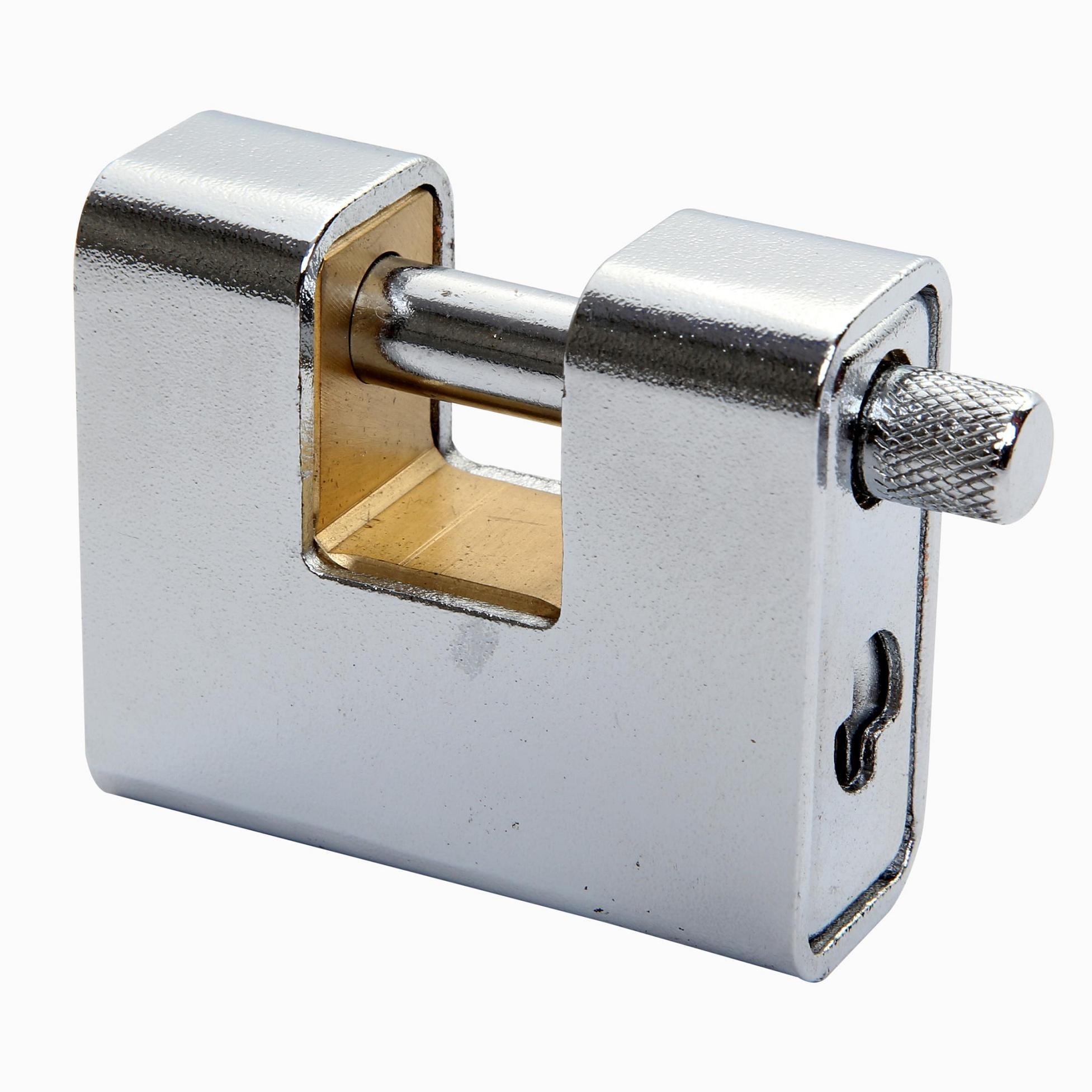 Armored Brass Padlock (2108)