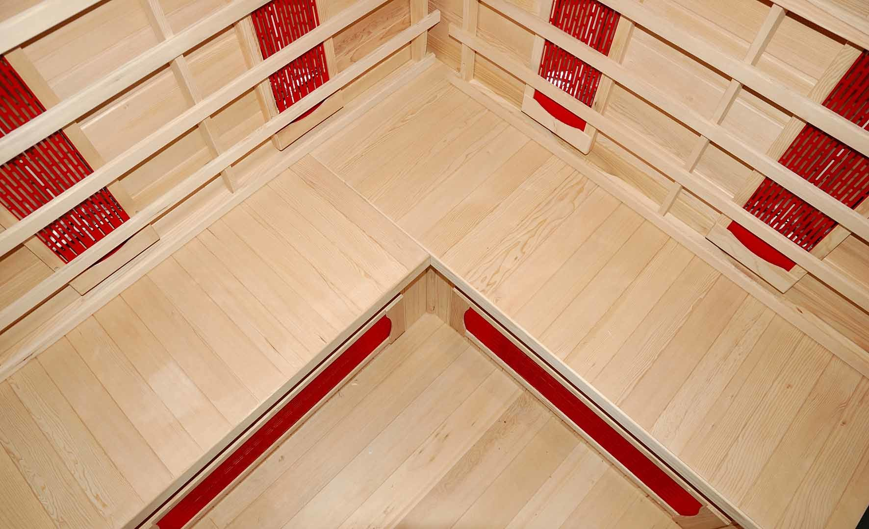 2016 New Design Luxury Far Infrared Sauna Room (SEK-B3C)