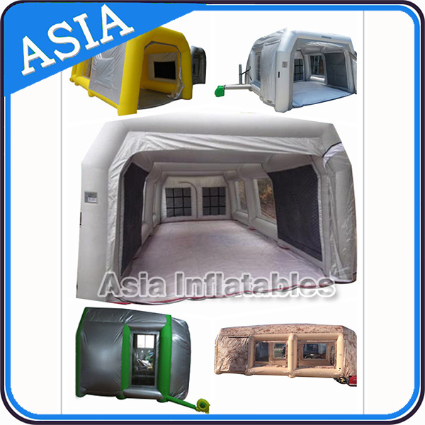 Inflatable Bedliner Booth, Inflatable Spray Booth for Model Painting