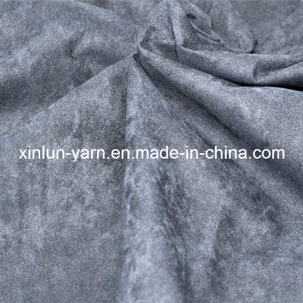 Brushed Finish Upholstery Suede Fabric for Jacket Sofa Shoes