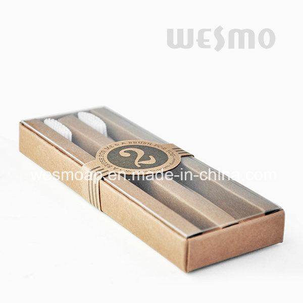 2-PC Set Kid Toothbrush Bamboo Toothbrush (WBB0862A)