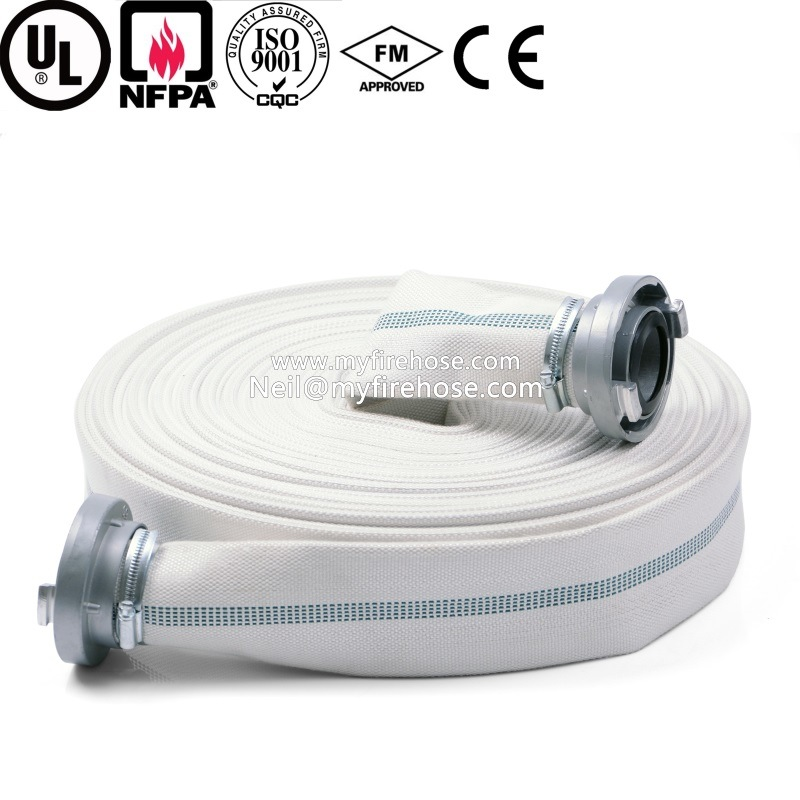 3 Inch PVC High Temperature Resistant Braided Fire Fighting Hose