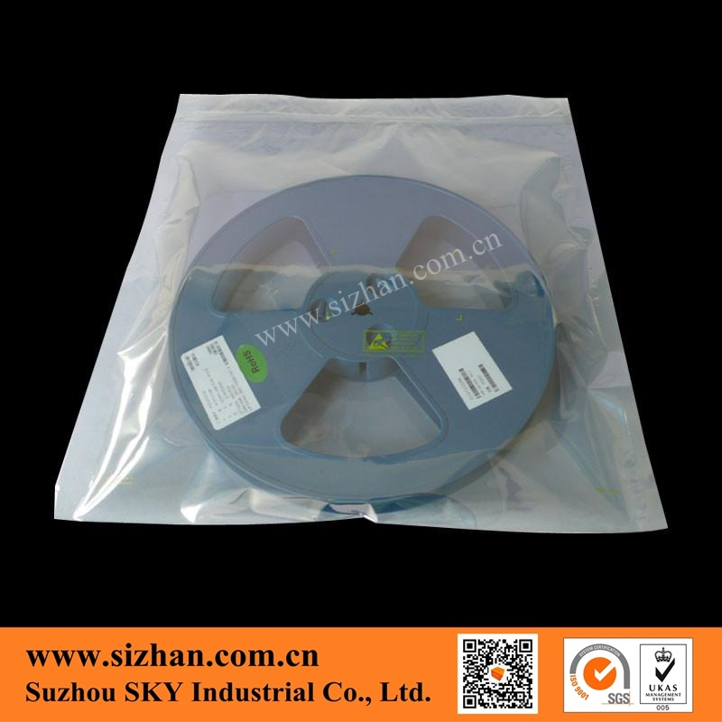 Anti-Static Zipper Clear Bag for Electronic Components