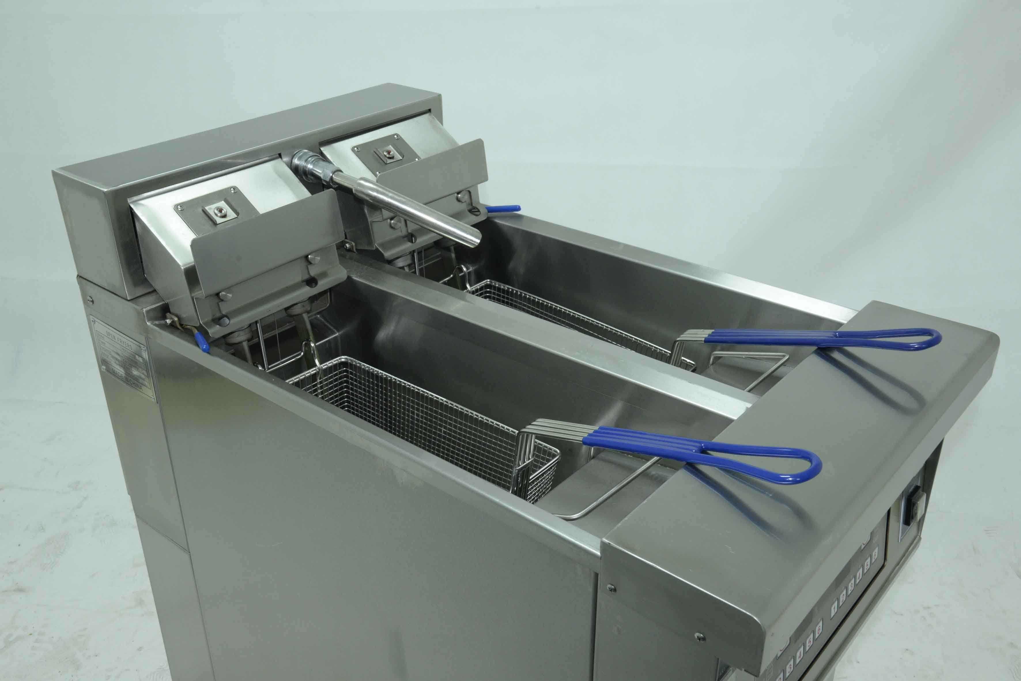 Hot Sale Kitchen Equipment Continuous Donut/Potato Prices Open Fryer/Restaurant Cooking Open Fryer