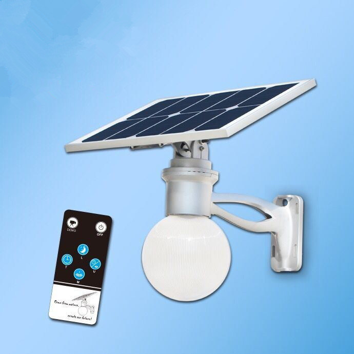 Integrated Solar LED Lamp for Garden, Road, Path and Street