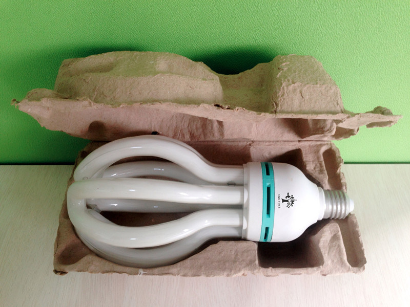 4u Shaped 55W 60W 65W 70W Lotus Energy Saving Lamp CFL