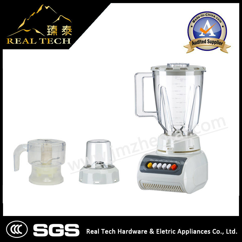 3 in 1 300W 1.5L Capacity Electric Food Processor Blender