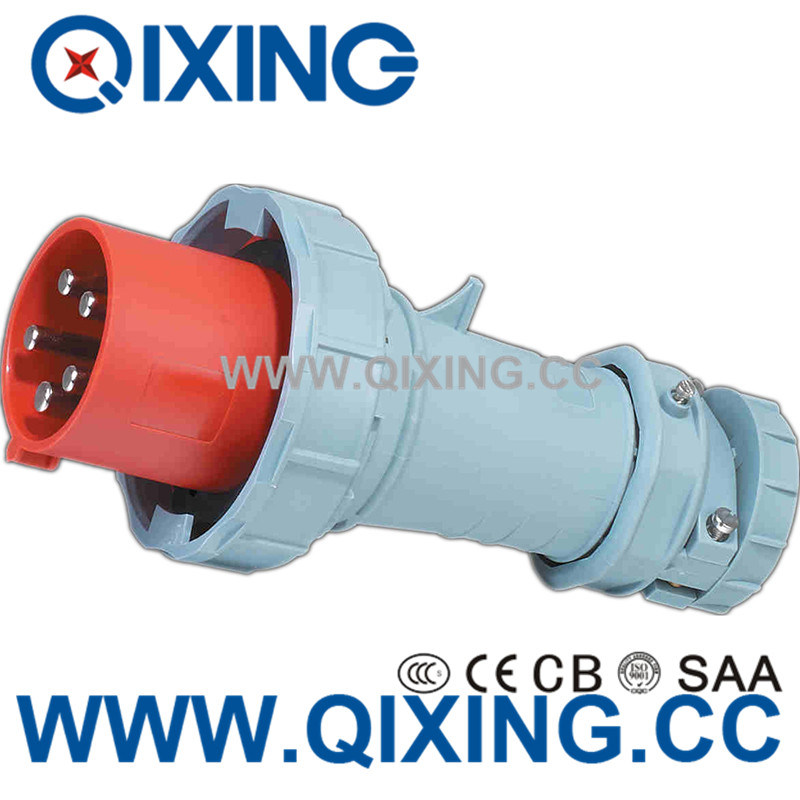 IEC 60309 Hot 125A 5p Red International Power Plugs