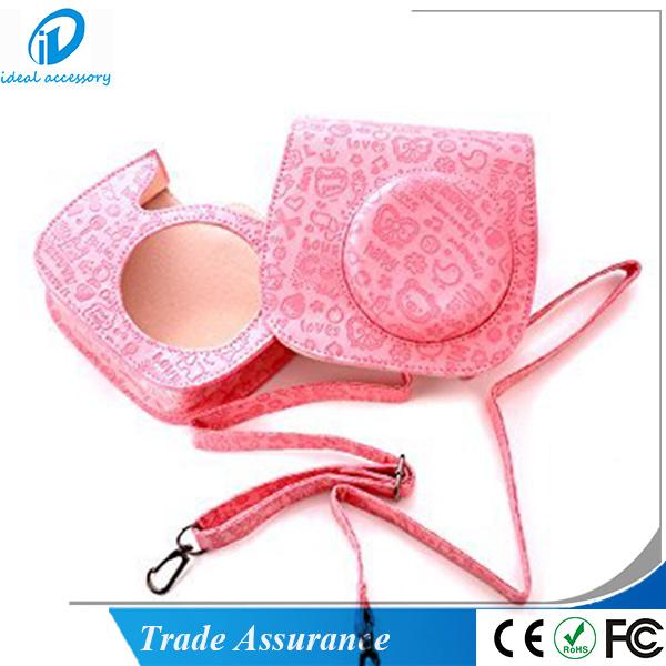 Fashion Cute Moc Style Fujifilm Polariod Instant Mini8 Camera Case