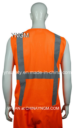 Reflective Clothing, Reflective Jacket, , Safety Wear, Reflective Vest with High Visibility Tape