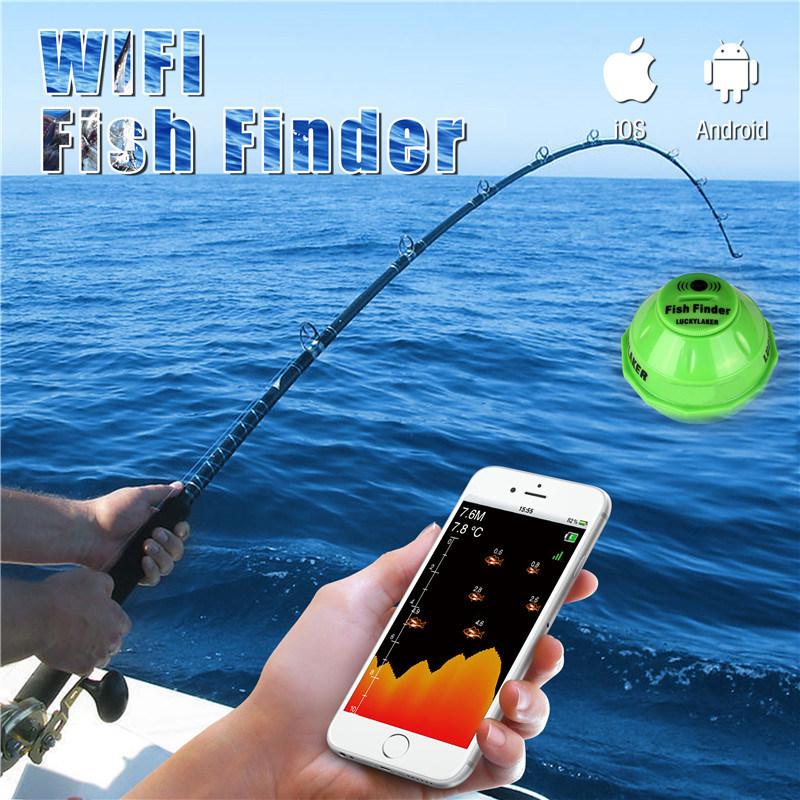 Wireless WiFi Sonar Fishfinder-FF916