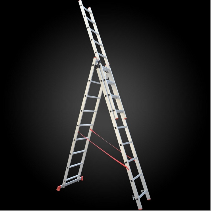 Top Safe Multi-Function Aluminum Telescopic Firefighting Ladder
