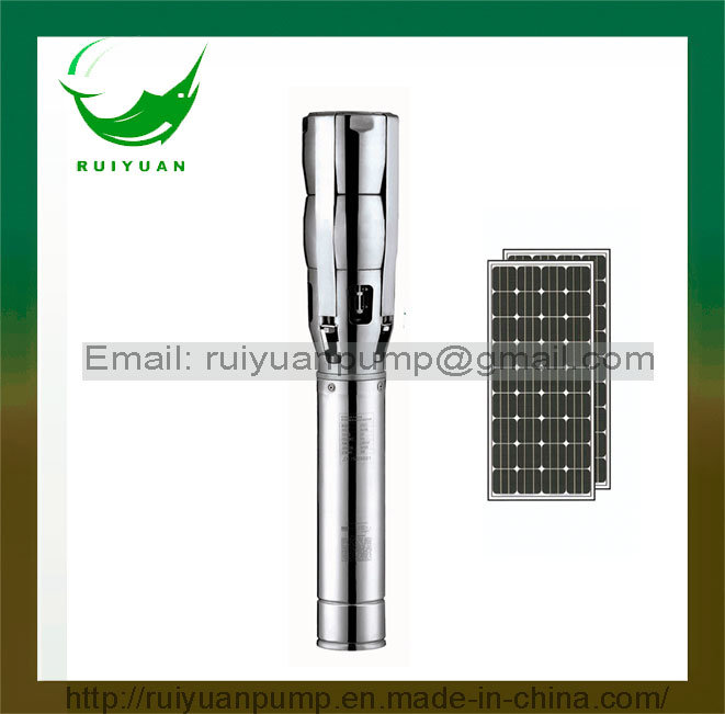 6 Inch 2200KW 3HP Solar DC Stainless Steel Deep Well Submersible Water Pump (SL6SP17-02/2.2KW)