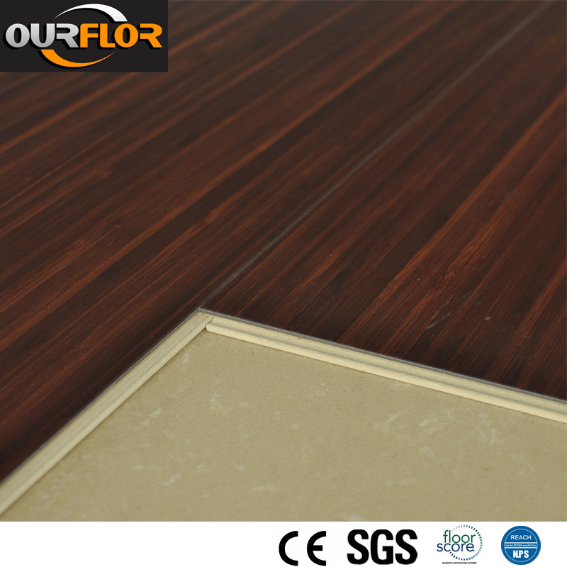 High Stain Resistant WPC Click Vinyl Floor Tile WPC Flooring