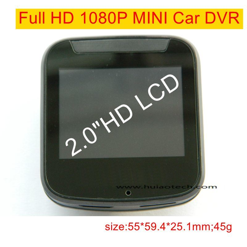 Cheap 2.0 Inch Mini Car Camcorder with Novatek96650 CPU, FHD1080p Car Camera DVR-2002