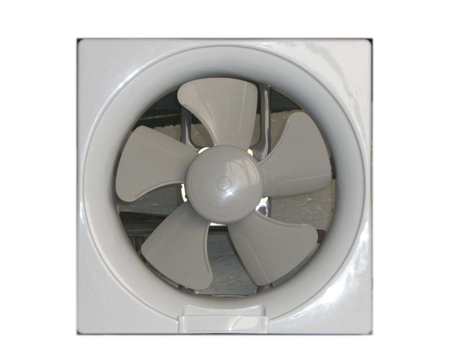Metal Body+PP Plastic Panel Square Exhaust Fan