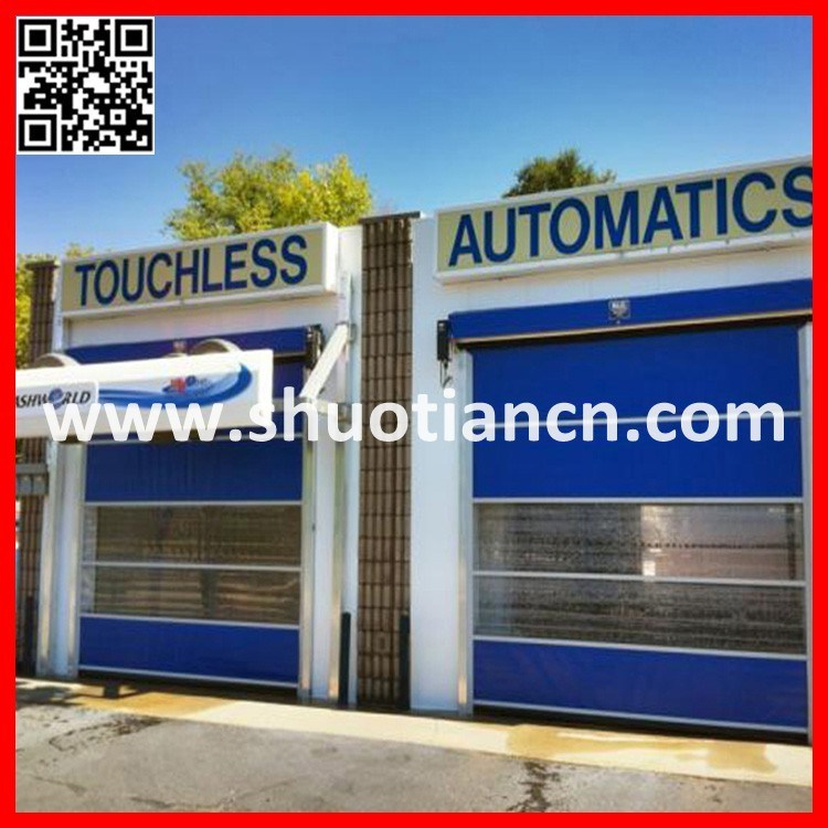 High Speed Rolling PVC Interior Automatic Door (ST-001)