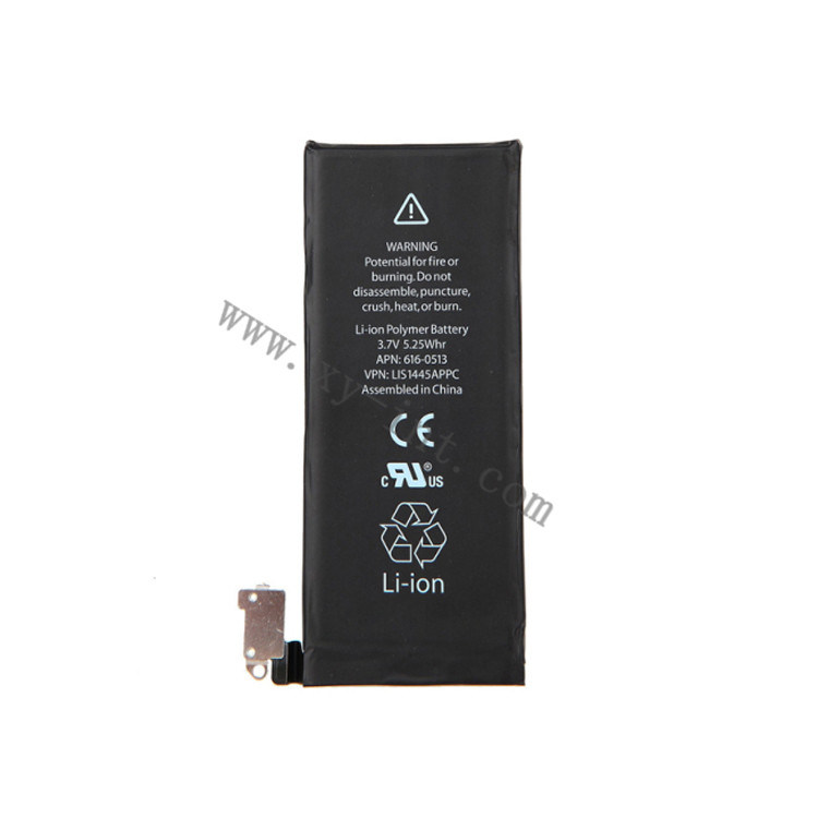 Mobile Phone Battery for iPhone 4 4G Lithium-Ion Batteries