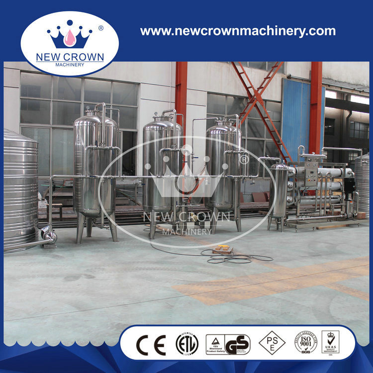 Customized SUS304 Mineral Water Treatment Plant with Ultra Filter System