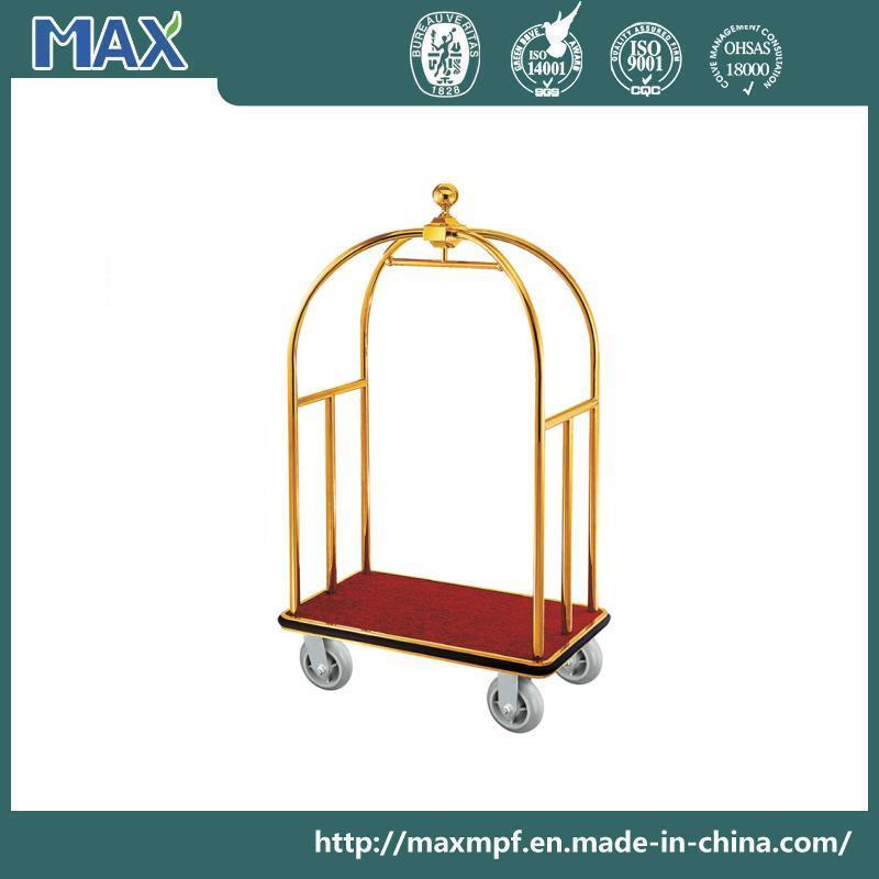 High Quality Hotel Bellman Luggage Cart