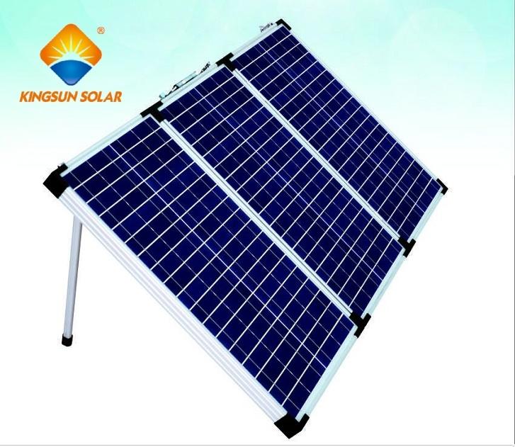 60-180W Portable 3-Folding Solar Panels
