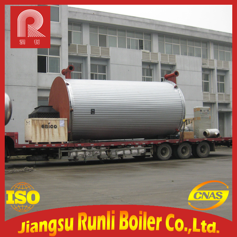 12t Wns Fuel Oil (gas) Steam, Hot Water Boiler
