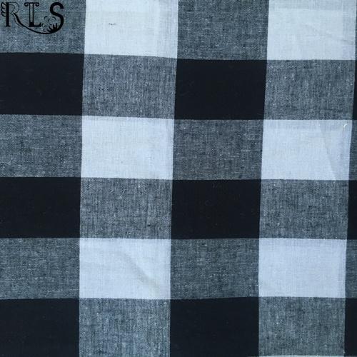 Linen/Cotton Woven L/C Yarn Dyed Fabric for Shirts/Dress Rlslc32-5