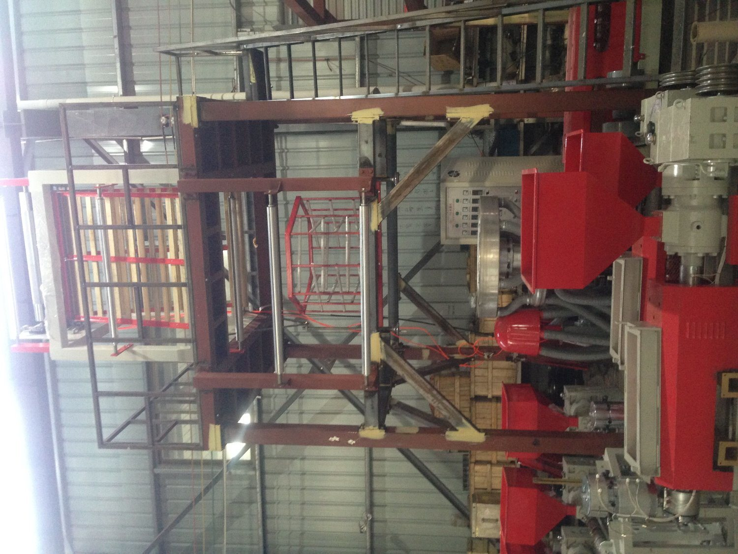 Ruipai Ruian Film Blowing Extruder