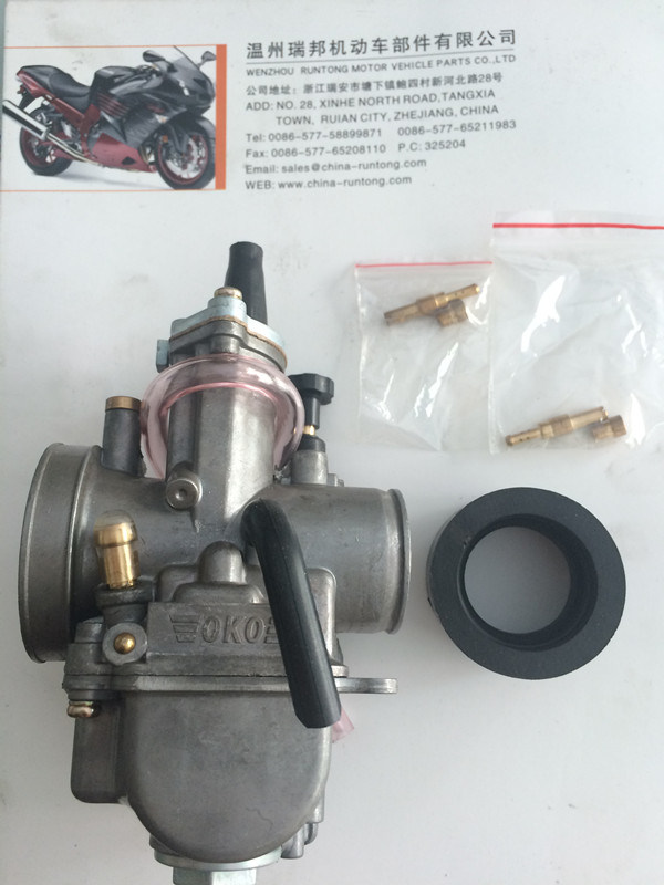 Oko 28mm Flat Slide Performance Carburetor
