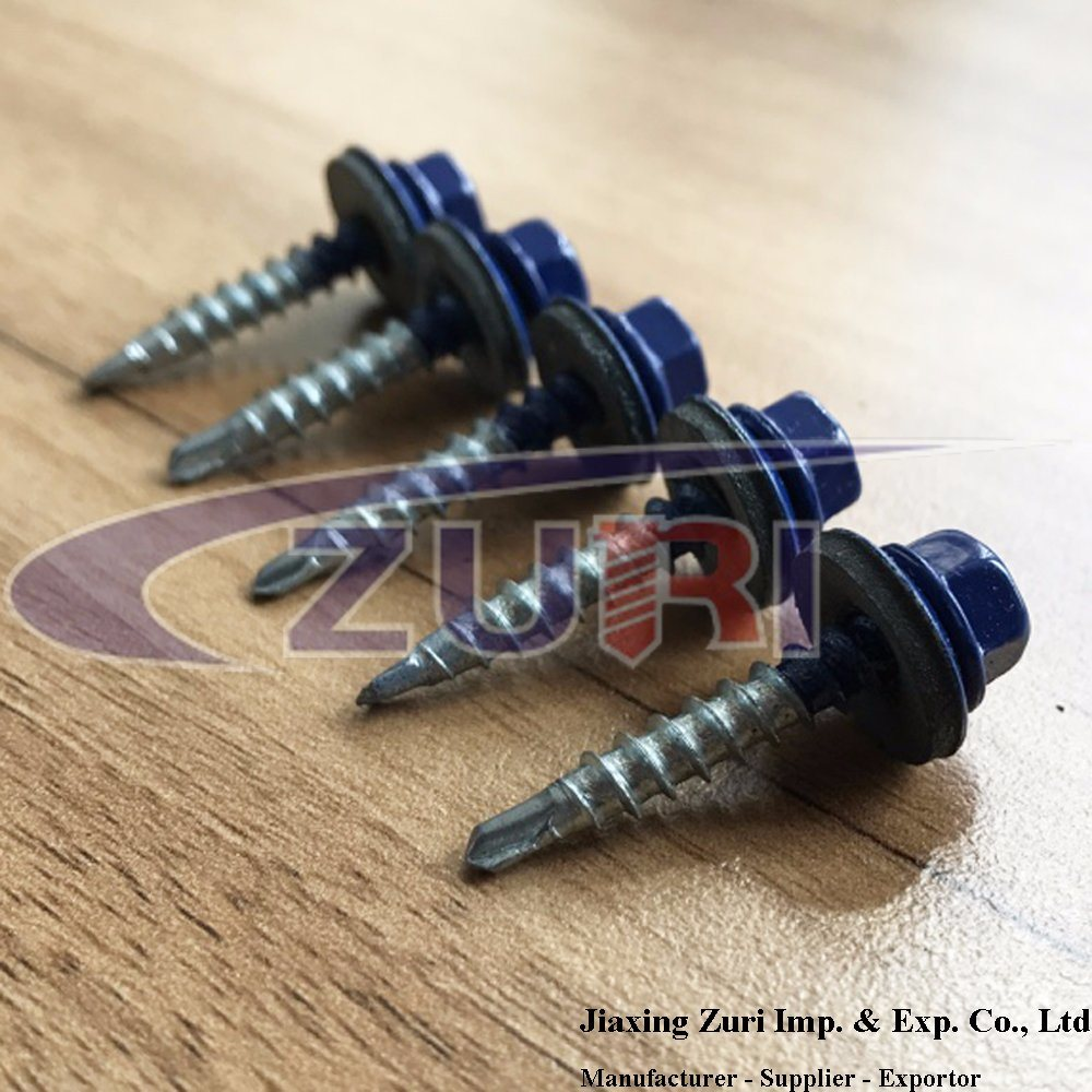 Roofing Screw 4.8X28 Ral 5002