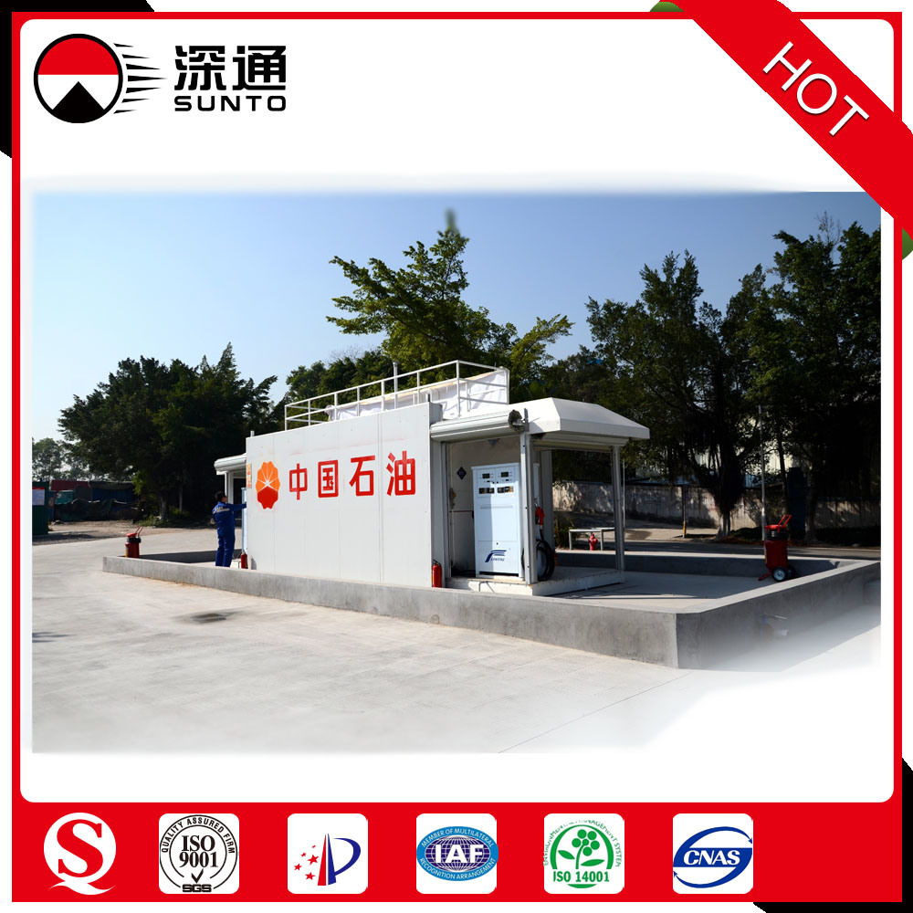 Explosion-Proof Portable Skid Mounted Filling Station /China National Petroleum Corporation Supplier