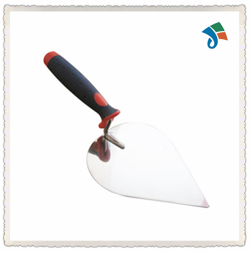 Stainless Steel Blade with TPR Handle Bricklaying Trowel