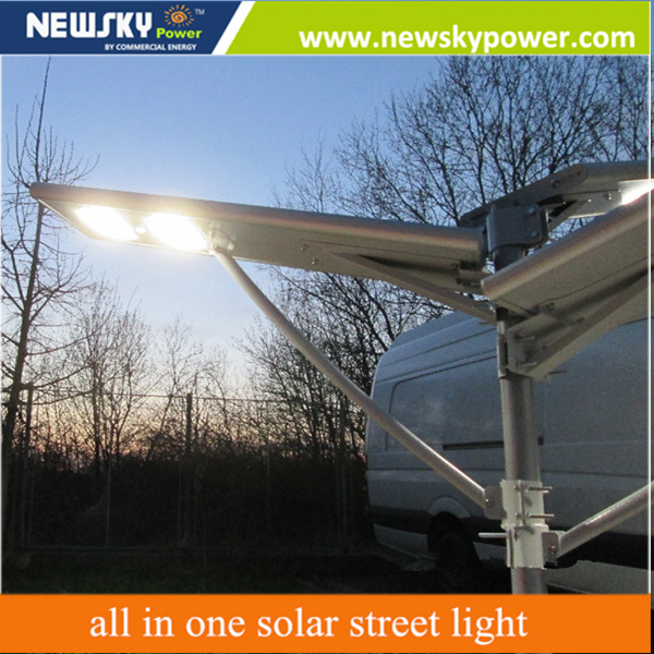 Outdoor Cheap Lights Garden Lighting Integrated All in One Solar Street Light